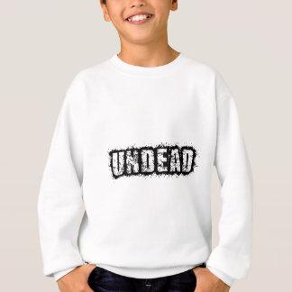 Palabras del zombi de los Undead Sudadera