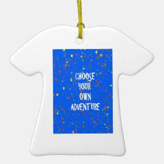 Palabras diy de la sabiduría de la CITA del Adorno De Cerámica En Forma De Camiseta