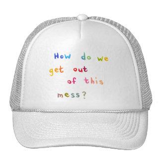 Palabras económicas del arte de la diversión de gorras