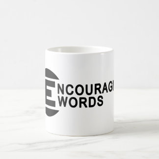Palabras Encouraging Taza De Café