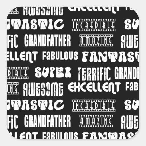 Palabras frescas del positivo de los abuelos del d etiqueta