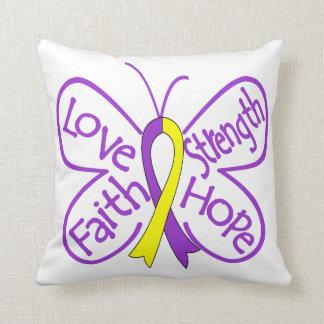 Palabras inspiradoras de la mariposa autoinmune de almohadas