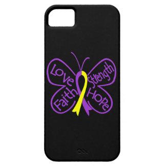 Palabras inspiradoras de la mariposa autoinmune de iPhone 5 cárcasas