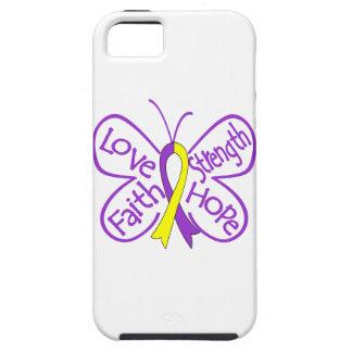 Palabras inspiradoras de la mariposa autoinmune de iPhone 5 Case-Mate cobertura