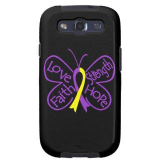 Palabras inspiradoras de la mariposa autoinmune de galaxy s3 protectores