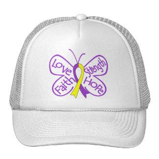 Palabras inspiradoras de la mariposa autoinmune de gorra