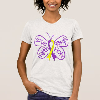 Palabras inspiradoras de la mariposa autoinmune de camiseta