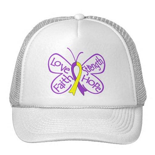 Palabras inspiradoras de la mariposa de la endomet gorro