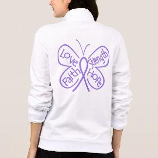 Palabras inspiradoras de la mariposa del linfoma chaquetas