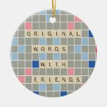 Palabras originales con los amigos adornos