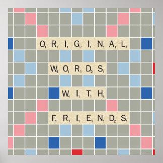 Palabras originales con los amigos poster