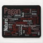 Palabras paganas mousepads