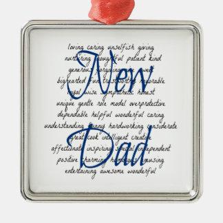 Palabras para el nuevo papá adornos de navidad