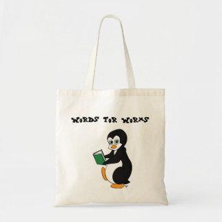 Palabras para la bolsa de libros de los gusanos