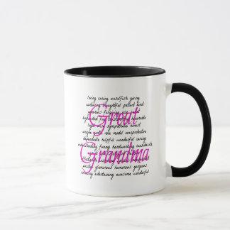 Palabras para la gran abuela taza