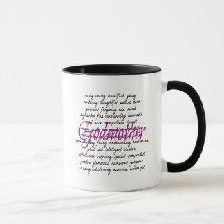 Palabras para la madrina taza