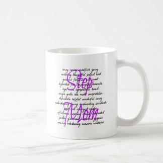 Palabras para la mamá del paso taza de café