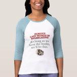 Palabras pasadas famosas en el Roleplaying: Camiseta