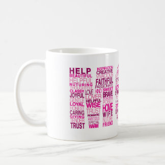 palabras sobre mamá taza de café
