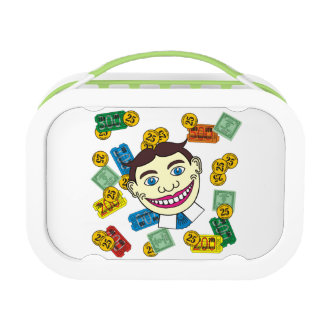 Palace amusements logo with Tillie face lunch box. Lunch Box