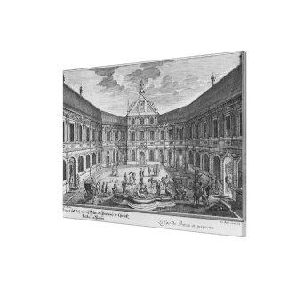 Palace at Munich, Germany Canvas Print