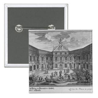 Palace at Munich, Germany Pinback Button