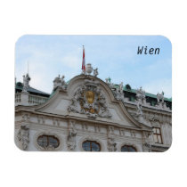 Palace Belvedere facade decoration Magnet