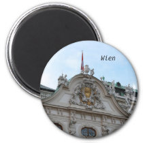 Palace Belvedere of Vienna Magnet