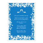 Palace Blue Heels Bridal Shower Invitation
