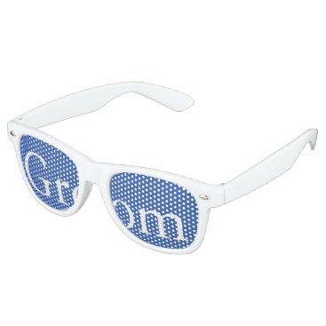 Beach Themed Palace Blue - Spring 2018 London Fashion Trends Retro Sunglasses