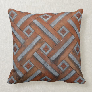 Palace Brick Wall Pillow