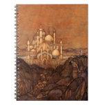 Palace Edmun Dulac Architecture Arabian Nights Notebook