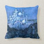 Palace Edmun Dulac Architecture Arabian Nights Pillows