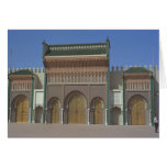 Palace, Fez, Morocco, Africa Greeting Cards