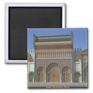 Palace, Fez, Morocco, Africa Magnet