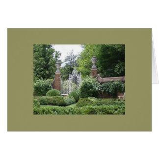 Palace Gardens Card