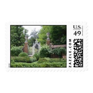 Palace Gardens   Postage Stamp