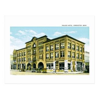 Palace Hotel, Crookston, Minnesota Postcard