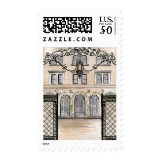 Palace Hotel Wedding Stamp