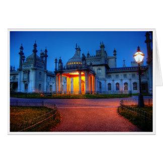 Palace Light Greeting Card