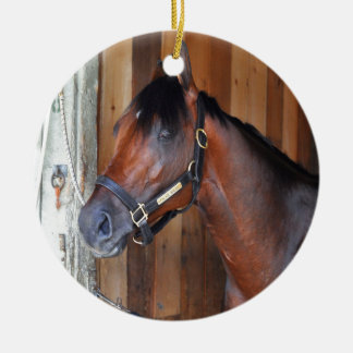 Palace Malice by Curlin Ceramic Ornament