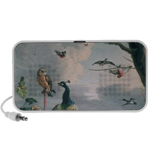 Palace of Amsterdam with Exotic Birds Mini Speaker