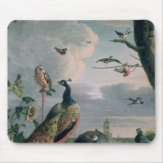 Palace of Amsterdam with Exotic Birds Mouse Pad
