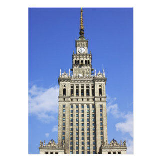 Palace of Culture and Science in Warsaw Personalized Invite