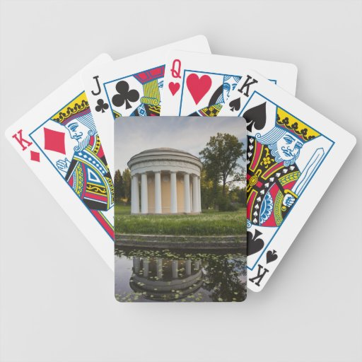 Palace of Czar Paul I, Temple of Friendship Playing Cards