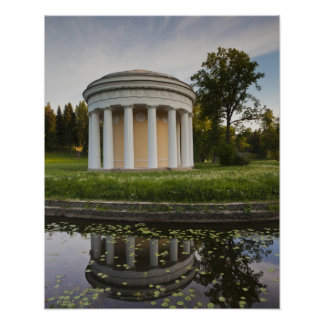 Palace of Czar Paul I, Temple of Friendship Poster