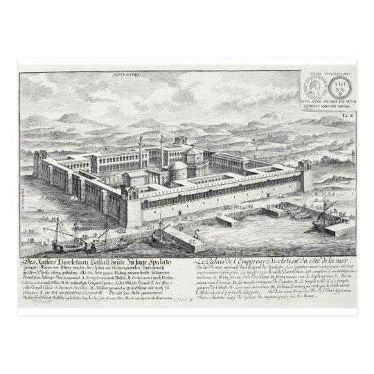 Palace of Diocletian (245-313), Split, Yugoslavia, Postcard