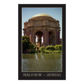 Palace of Fine Art Poster