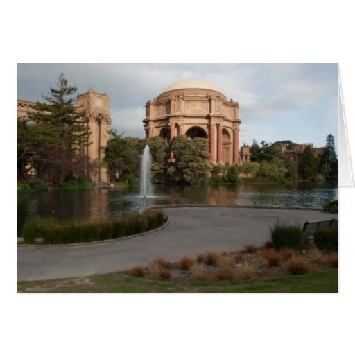 Palace of Fine Arts Card
