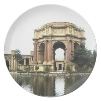 Palace of Fine Arts Party Plates